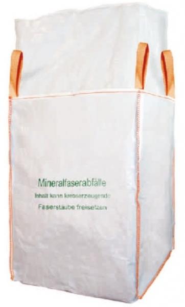 F-FELDTMANN-TECTOR-Bags-Transport-Entsorgung-Container-Säcke, Big-Bag, Mineralwolle, 4 Hebeschlaufen, 90 X 90 X 120 cm beschichtet