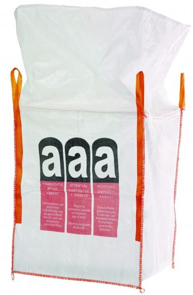 F-Karton Big-Bag, für Asbest, bechichtet, mit Schürze, TRAGKRAFT: 1.000 KG