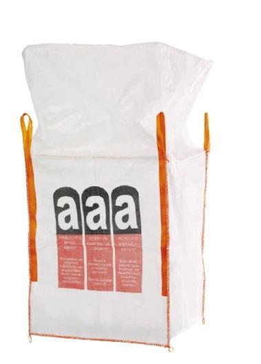 F-FELDTMANN-TECTOR-Bags-Transport-Entsorgung-Container-Säcke, Big-Bag, für Asbest, bechichtet, 70 x 70 x 90 cm, Tragkraft: 1.000 KG