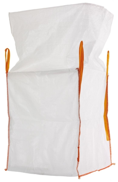 F-FELDTMANN-TECTOR-Bags-Transport-Entsorgung-Container-Säcke, Big-Bag, mit Schürze, 90 x 90 x 110 cm, 4 Schlaufen, Tragkraft: 1500 KG