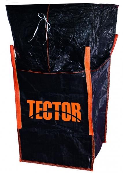 F-Big-Bag, mit Schürze, 90 x 90 x 110 cm, 4 Schlaufen, Tragkraft: 1000 KG