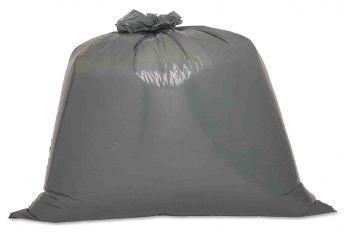 F-Feldtmann-Abfall-Säcke-Müll-Beutel, Entsorgungssäcke, für Entsorgungsbehälter, 800 l, grau