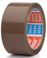 F-Klebe-Dicht-Füll-Stoffe, tesapack® 4024 PV4  Packband, braun