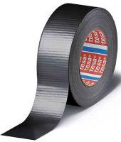 F-Klebe-Dicht-Füll-Stoffe, tesa® duct tape 4662 Gewebeband, mattsilber
