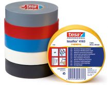 F-Klebe-Dicht-Füll-Stoffe, tesaflex® 4163 Isolierband, schwarz