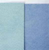 MEIKO-Reinigungs-Putz-Tücher, BODENTUCH SUPRA, Vlies, Pkg. á 10 Stück, blau/weiss