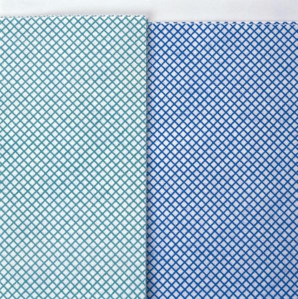 MEIKO-BODENTUCH SUPRA, Pkg. á 10 Stück, grün/weiß
