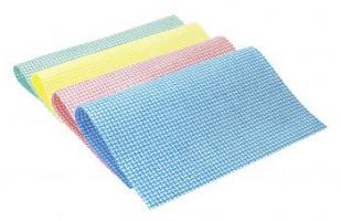 MEIKO-Reinigungs-Putz-Tücher, BESCHICHTETES TUCH, UNI PLUS, blau