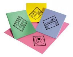 MEIKO-Reinigungs-Putz-Tücher, FEUCHT-WISCHTUCH, Schreibtisch, Pkg. á 10 Stück, hellblau