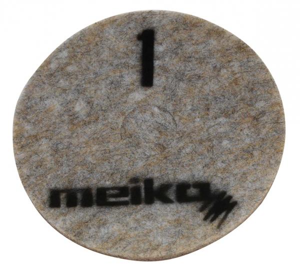 MEIKO-DIAMANT-PAD, grob, S1, 13 - 330 mm, Pkg. á 5 Stück, beige