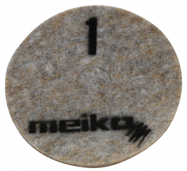 MEIKO-DIAMANT-PAD, grob, S1, 16 - 406 mm, Pkg. á 5 Stück, beige