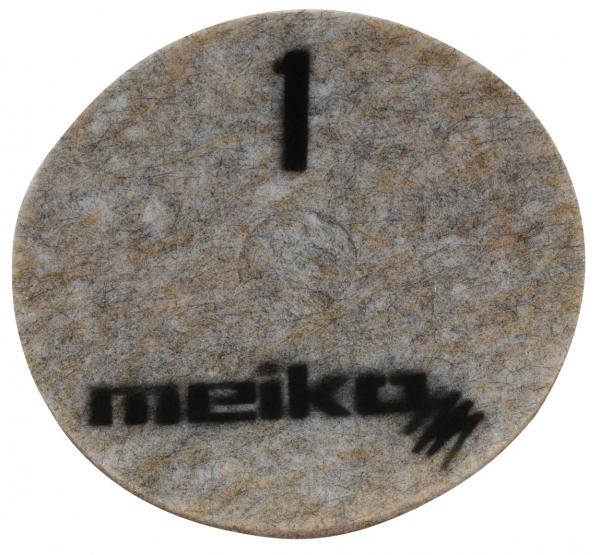 MEIKO-DIAMANT-PAD, grob, S1, 17 - 432 mm, Pkg. á 5 Stück, beige