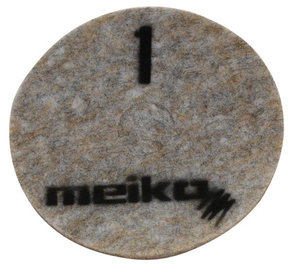 MEIKO-DIAMANT-PAD, grob, S1, 20 - 508 mm, Pkg. á 5 Stück, beige