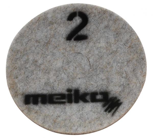 MEIKO-DIAMANT-PAD, medium, S2, 13 - 330 mm, Pkg. á 5 Stück, beige