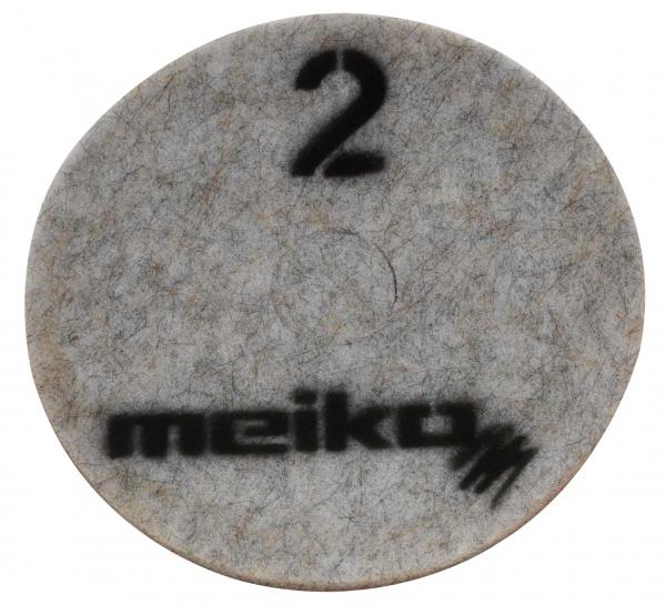 MEIKO-DIAMANT-PAD, medium, S2, 17 - 432 mm, Pkg. á 5 Stück, beige