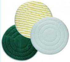 MEIKO-Wisch-Mopps-Pads, MICRO-BORSTEN-PAD, gelb/weiss