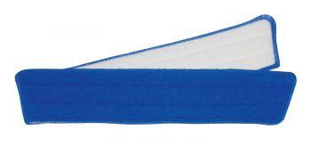 MEIKO-Wisch-Mopps-Pads, TRAPEZ-KLETT-MOPP, MICROPLUS-BEZUG, blau