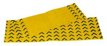 MEIKO-Wisch-Mopps-Pads, FAST WISH-EINWEG-MOPP, Pkg. á 10 Stück, gelb/blau