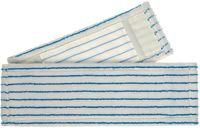 MEIKO-Wisch-Mopps-Pads, Micro-Borsten-Mopp, weiß/blau