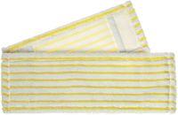 MEIKO-Wisch-Mopps-Pads, Micro-Borsten-Mopp, weiß/gelb