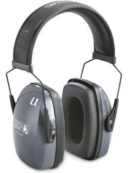 HONEYWELL-PSA-Gehörschutz, Ohr-Stöpsel HOWARD-PSA-Leightning L1 mit Kopfbügel, leicht, SNR 30
