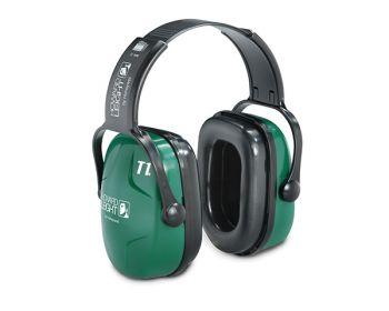 HONEYWELL-PSA-Gehörschutz, Kapsel-Gehörschutz, Ohrspöpsel Thunder T1 mit Kopfbügel, grün