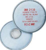 3M-PSA-Atem-Schutz, Filter-Maske, PARTIKELFILTER P3R , mit Aktivkohle mit zusätzlichem Schutz gegen organische Gase u. Dämpfe, 2 Stk. á Pkg.
