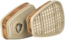 3M-PSA-Atem-Schutz, Filter-Maske, FILTER A1 gegen organische Gase und Dämpfe, 8 Stk. á Pkg.