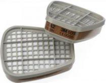 3M-PSA-Atem-Schutz, Filter-Maske, FILTER A2 gegen organische Gase und Dämpfe, 2 Stk. á Pkg.