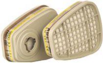 3M-PSA-Atem-Schutz, Filter-Maske, FILTER ABE1, gegen organische, anorganische und saure Gase u. Dämpfe, 2 Stk. á Pkg.