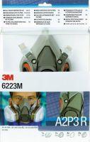 3M-PSA-Atem-Schutz, Filter-Maske, GASE- & DÄMPFE-MASKENSET A2P3, 1 Set