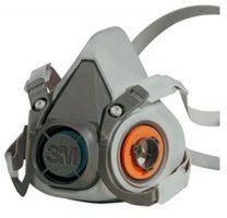 3M-PSA-Atem-Schutz, Filter-Maske, VOLLMASKE, Silikon, 1 Stk.