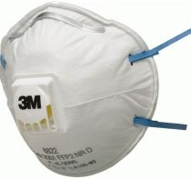 3M-PSA-Atem-Schutz, Filter-Maske, ATEMSCHUTZMASKE, FFP2 NR D, 10 Stk. á Pkg.
