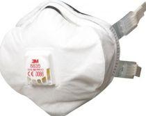 3M-PSA-Atem-Schutz, Filter-Maske, ATEMSCHUTZMASKE, FFP3 R D, mit Cool-Flow, 5 Skt. á Pkg.