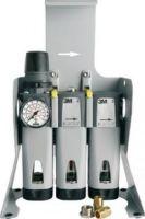 3M-PSA-Atem-Schutz, Filter-Maske, AIRCARE ACU-01, Wandmontage, ohne Kupplungen
