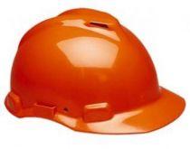 3M-PSA-Schutzhelm G22DO, ABS, mit Schweißleder belüftet, orange