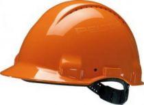3M-PSA-Schutzhelm G30DUO, ABS, mit Schweißleder belüftet, orange