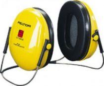 3M-PSA-Gehörschutz, Kapsel-Gehörschützer, Ohr-Stöpsel, Nackenbügel Optime I,  gelb