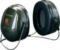 3M-PSA-Gehörschutz, Nackenbügel Optime II, Ohr-Schutz, Kapsel-Gehörschützer, grün