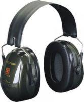 3M-PSA-Gehörschutz, Faltbügel Optime II, Ohr-Schutz, Kapsel-Gehörschützer, grün