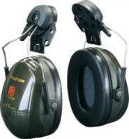 3M-PSA-Gehörschutz, Helmkapsel P3E Optime II, Ohr-Schutz, Steckbefestigung für Helme mit 30 mm Schlitz, grün