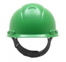 3M-PSA-Schutzhelm H700C, HDPE, innen mit Kunststoff-Schweißband, grün