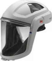 3M-PSA-Gesichtsschutz, GESICHTSSCHILD mit Gesichtsabdeckung, (schwer entflammbar) und Polycarbonat-Visier, Farbe: klar, 1 Stk.