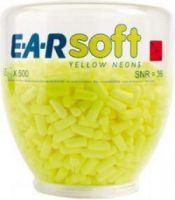 3M-PSA-Gehörschutz, E-A-R SOFT Yellow Neons Refill, Ohr-Stöpsel, Aufsatz für One-Touch-Spender Refill, Pkg. á 500 Paar
