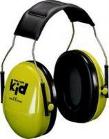 3M-PSA-Gehörschutz, PELTOR KIDV Kid, Ohr-Schutz, Kapsel-Gehörschützer, neon-grün