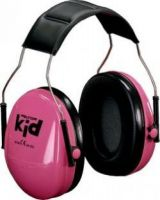 3M-PSA-Gehörschutz, PELTOR KIDR Kid, Ohr-Schutz, Kapsel-Gehörschützer, neon-rosa