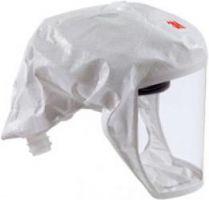 3M-PSA-Atem-Schutz, EINWEG-Leichthaube, 1 Stk., Farbe: weiss