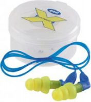 3M-PSA-Gehörschutz, E-A-R Ultrafit X, Ohr-Stöpsel, Gehör-Schutz-Stöpsel, m. Kordel, Pkg. á 50 Paar