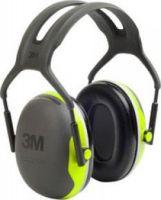 3M-PSA-Gehörschutz, Kopfbügel X4, Ohr-Schutz, sehr hoher Dämmwert und schmaler Kapselaufbau