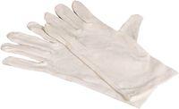 AMPRI-Trikot-Unterzieh-Arbeits-Handschuhe, ECO PLUS, geschichtelt, hochwertige Qualität, VE = Pkg. á 12 Paar, weiß